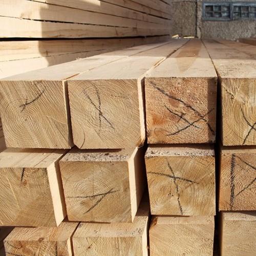Обрезной брус из лиственницы 150x150x6000 мм