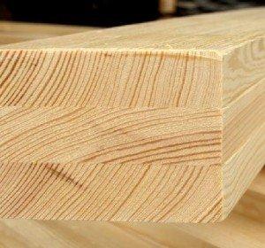Клееный брус из лиственницы класс Экстра 100x150x6000 мм