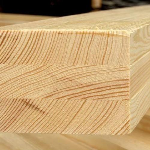 Клееный брус из лиственницы класс Экстра 100x100x6000 мм