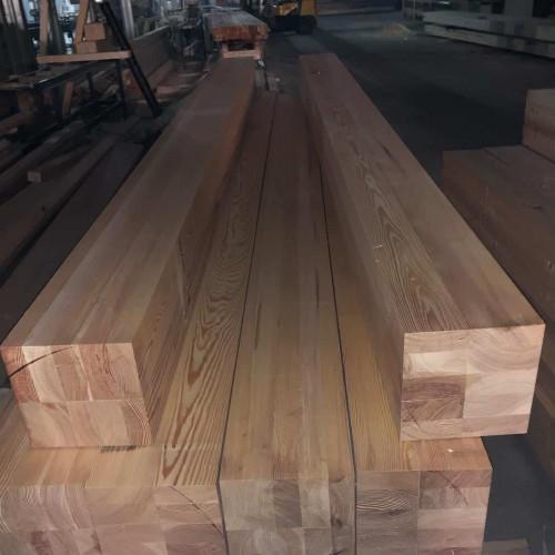 Клееный брус из лиственницы класс А 100x100x6000 мм