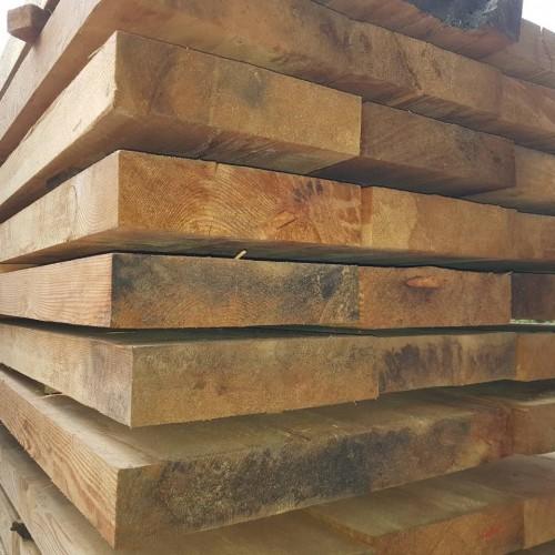 Обрезная доска из лиственницы 40x200x6000 мм