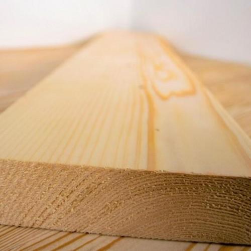 Палубная доска из лиственницы класс А 28x120x3000 мм