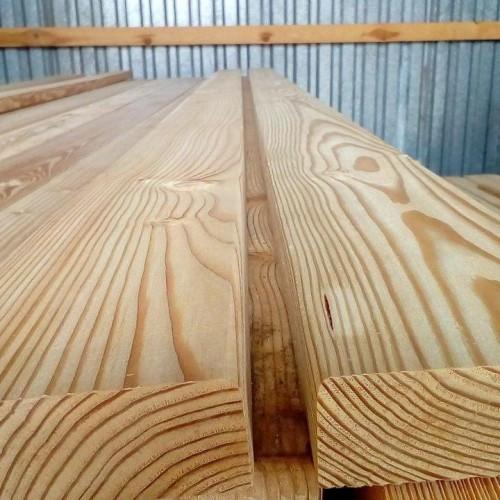 Палубная доска из лиственницы класс А 35x90x3000 мм
