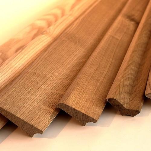 Деревянный плинтус 25х3000 мм бессучковый