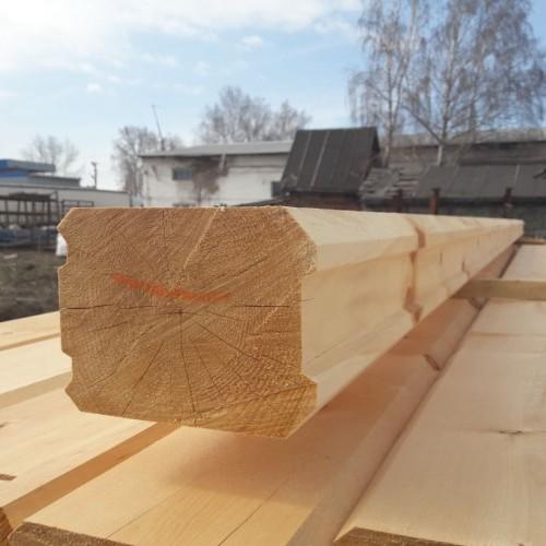 Профилированный брус из лиственницы 150x200x6000 мм