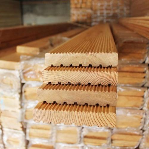 Доска вельвет из лиственницы класс Прима 28x140x3000 мм